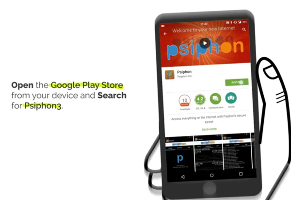 How to use a VPN on Android – Helping Syrians Communicate Safely